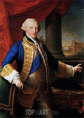 Pompeo Batoni | Portrait of Edward Augustus, Duke Of York, 1764
