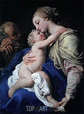 Pompeo Batoni | The Holy Family,