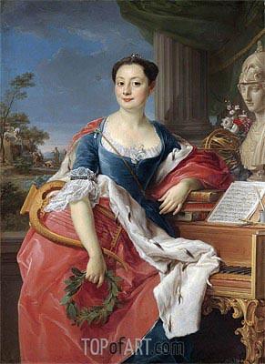 Pompeo Batoni | Portrait Of The Principessa Giacinta Orsini Buoncompagni Ludovisi, Duchessa D'arce,
