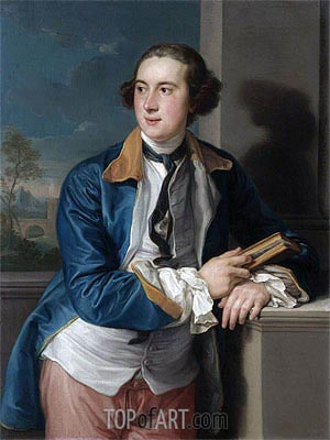 Pompeo Batoni | Portrait of William Legge, 2nd Earl of Darmouth,
