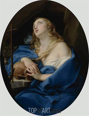 The Penitent Magdalene,  | Pompeo Batoni | Painting Reproduction