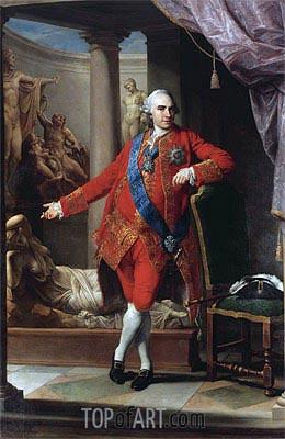Pompeo Batoni | Portrait Of Count Kirill Grigorjewitsch Razumovsky, 1766