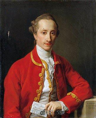 Pompeo Batoni | Portrait Du Baron Francois De Chambrier, Chambellan Du Roi De Prusse, 1771