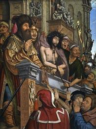 Christus vorgestellt zu den Menschen, c.1518/20 von Quentin Massys | Gemälde-Reproduktion