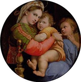 Madonna della Seggiola, c.1512/14 by Raphael | Painting Reproduction