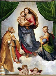 The Sistine Madonna | Raphael | Painting Reproduction
