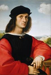 Portrait of Agnolo Doni | Raphael | Painting Reproduction