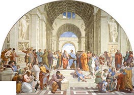 School of Athens, c.1510/11 by Raphael | Painting Reproduction