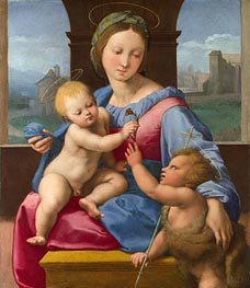 The Garvagh Madonna, c.1509/10 by Raphael | Painting Reproduction