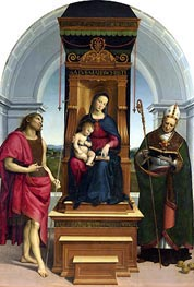 The Ansidei Madonna, 1505 by Raphael | Painting Reproduction