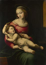 The Madonna and Child, undated by Raphael | Painting Reproduction
