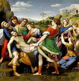 The Deposition, 1507 by Raphael | Painting Reproduction