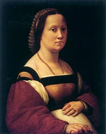 La Donna Gravida (The Pregnant Woman), c.1505/07 by Raphael | Painting Reproduction