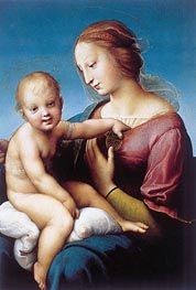 Niccolini-Cowper Madonna, 1508 by Raphael | Painting Reproduction