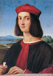 Portrait of the Young Pietro Bembo | Raphael | Gemälde Reproduktion