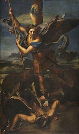 St. Michael Overwhelming the Demon | Raphael | Painting Reproduction