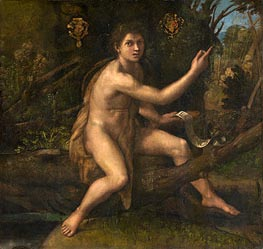 St. John the Baptist in the Desert | Raphael | Painting Reproduction