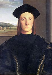 Portrait of Guidobaldo da Montefeltro, Duke of Urbino | Raphael | Gemälde Reproduktion