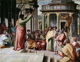 Saint Paul Preaching at Athens | Raphael | veraltet