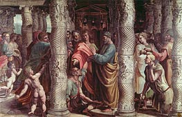 The Healing of the Lame Man | Raphael | veraltet