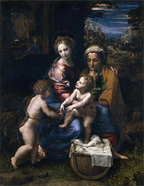 The Holy Family (The Pearl) | Raphael | veraltet