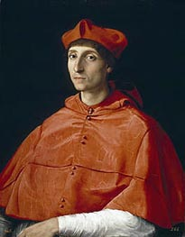 The Cardinal, c.1510 by Raphael | Painting Reproduction