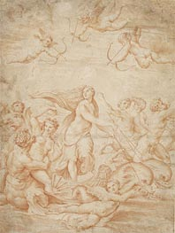 The Triumph of Galatea, undated by Raphael | Painting Reproduction