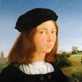 Portrait of a Man, c.1506/13 by Raphael | Painting Reproduction