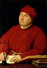 Portrait of Tommaso Inghirami, c.1511 by Raphael | Painting Reproduction