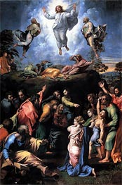 The Transfiguration, c.1519/20 by Raphael | Painting Reproduction