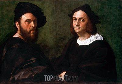 Raphael | Andrea Navagero and Agostino Beazzano, c.1516