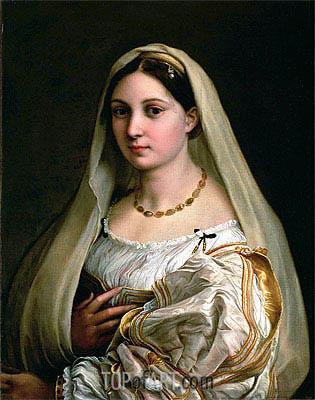 Raphael | La Donna Velata, c.1514/16