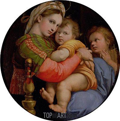 Raphael | Madonna della Seggiola, c.1512/14