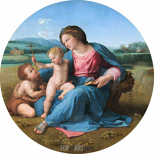 Madonna Alba, c.1511/13 | Raphael | Painting Reproduction