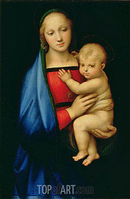 The Granduca Madonna, c.1505 | Raphael| Painting Reproduction