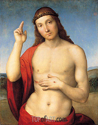 Raphael | The Blessing Christ, c.1506