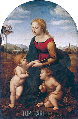 La Belle Jardiniere, c.1507/08 | Raphael| Painting Reproduction