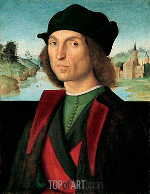 Portrait of a Man, c.1502/04 | Raphael| Painting Reproduction