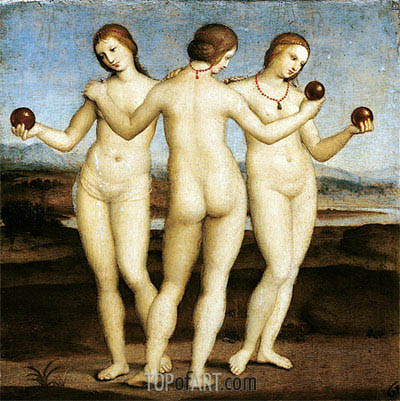 Raphael | The Three Graces, c.1504/05
