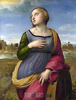 Raphael | Saint Catherine of Alexandria, c.1507