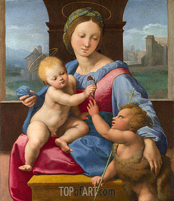 The Garvagh Madonna, c.1509/10 | Raphael | Gemälde Reproduktion