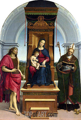 The Ansidei Madonna, 1505 | Raphael | Painting Reproduction