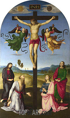 The Mond Crucifixion, c.1502/03 | Raphael | Gemälde Reproduktion