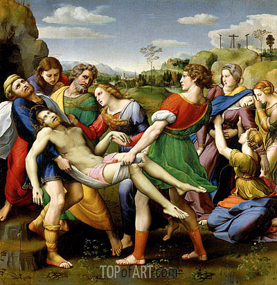 The Deposition, 1507 | Raphael | Painting Reproduction