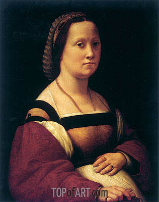 La Donna Gravida (The Pregnant Woman), c.1505/07 | Raphael | Gemälde Reproduktion