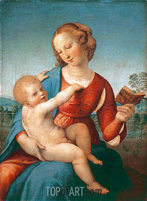 Madonna Colonna, c.1507/08 | Raphael | Painting Reproduction