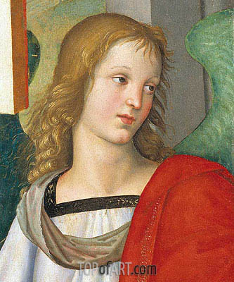 Head of an Angel, c.1500/01 | Raphael | Gemälde Reproduktion