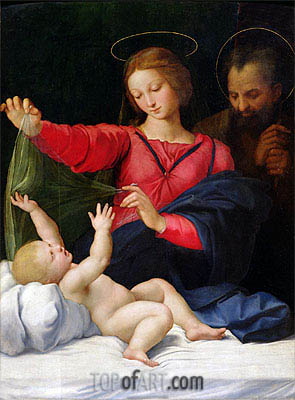 The Madonna of Loreto, c.1509 | Raphael| Painting Reproduction