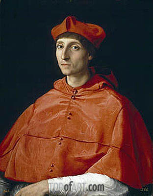 The Cardinal, c.1510 | Raphael | Painting Reproduction