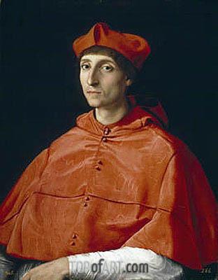 The Cardinal, c.1510 | Raphael | Gemälde Reproduktion
